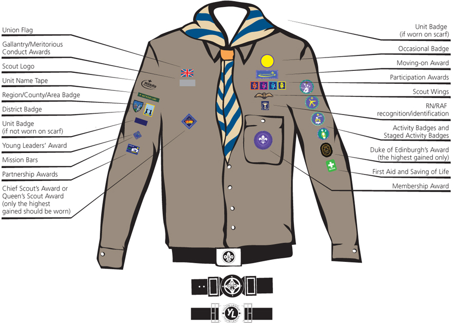 Explorers Uniform