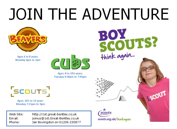Join Scouting - Girls